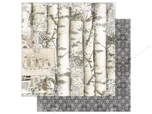 Bo Bunny 12 x 12 in. Paper Winter Wishes (25 pieces)