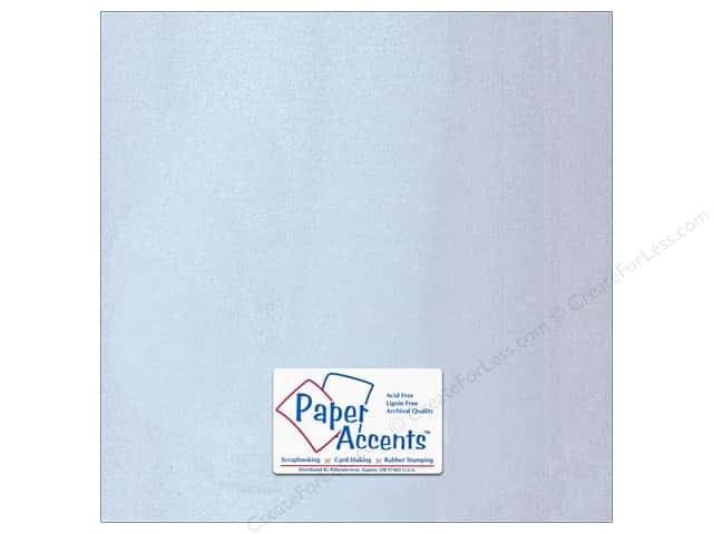 Paper Accents Cardstock 12 x 12 in. Glossy Silver 5 pc.