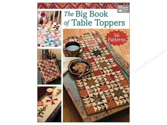 Big Book of Table Toppers Book by Karen M. Burns