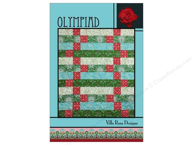 Villa Rosa Designs Olympiad Pattern Card