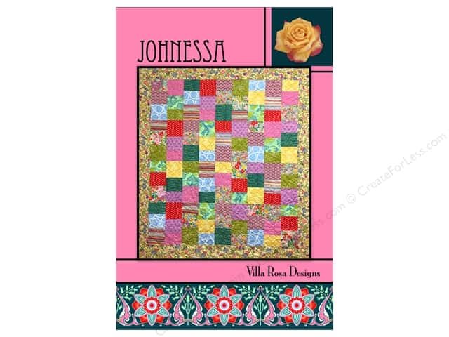 Villa Rosa Designs Johnessa Pattern Card