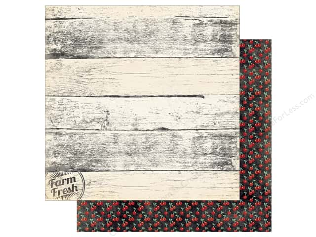 Bo Bunny 12 x 12 in. Paper Kiss The Cook Farm Fresh (25 pieces)
