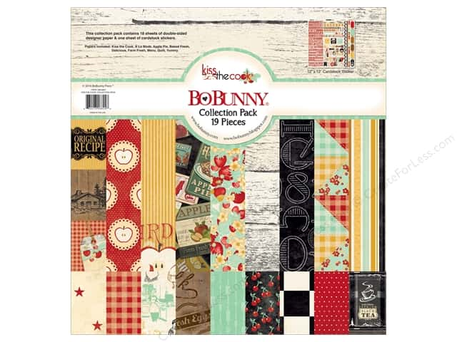 Bo Bunny 12 x 12 in. Collection Pack Kiss The Cook