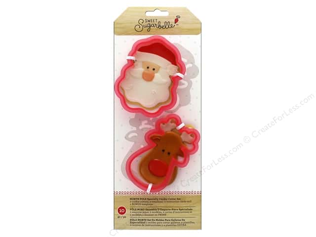 American Crafts Sweet Sugarbelle Cookie Cutter Set North Pole