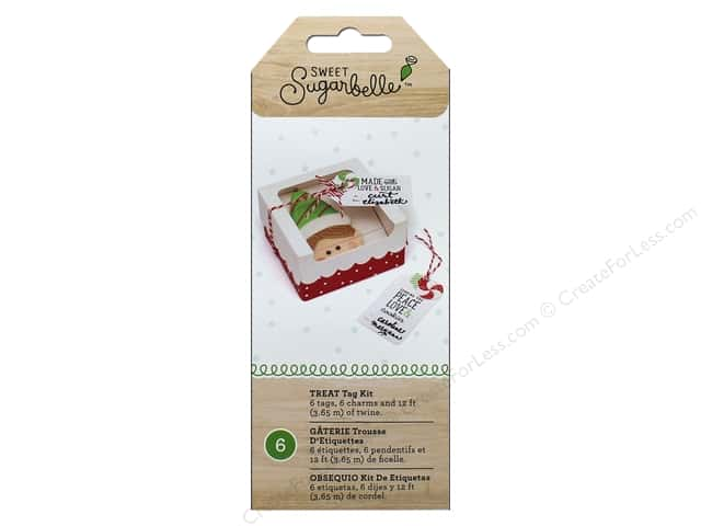 American Crafts Collection Sweet Sugarbelle Gift Tag Kit Treats
