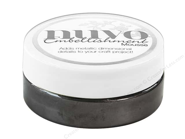 Nuvo Embellishment Mousse 2.2 oz. Black Ash