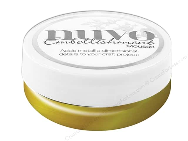 Nuvo Embellishment Mousse 2.2 oz. Indian Gold