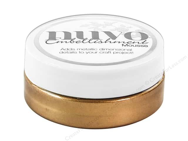 Nuvo Embellishment Mousse 2.2 oz. Cosmic Brown