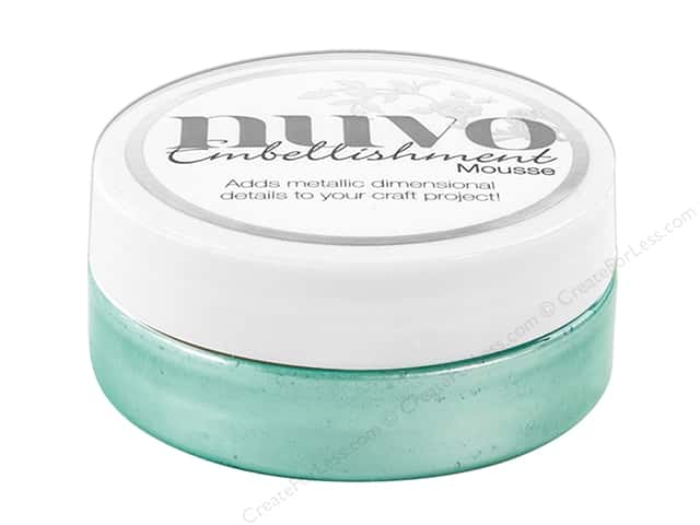 Nuvo Embellishment Mousse 2.2 oz. Aquamarine
