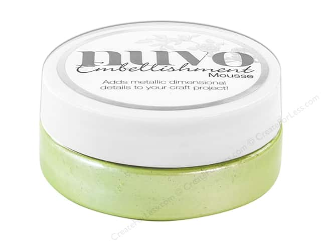 Nuvo Embellishment Mousse 2.2 oz. Spring Green