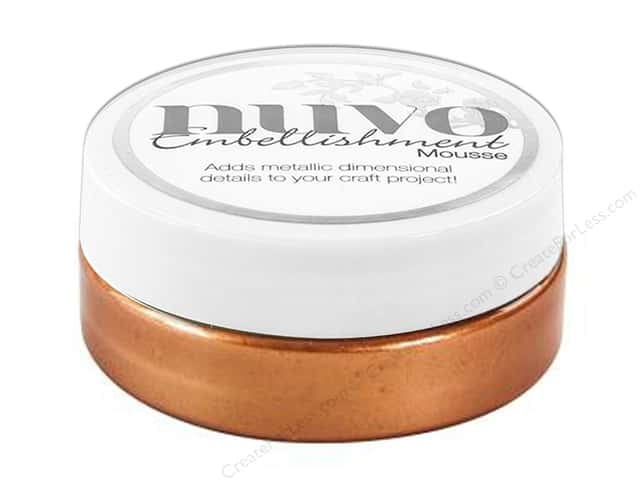 Nuvo Embellishment Mousse 2.2 oz. Fresh Copper