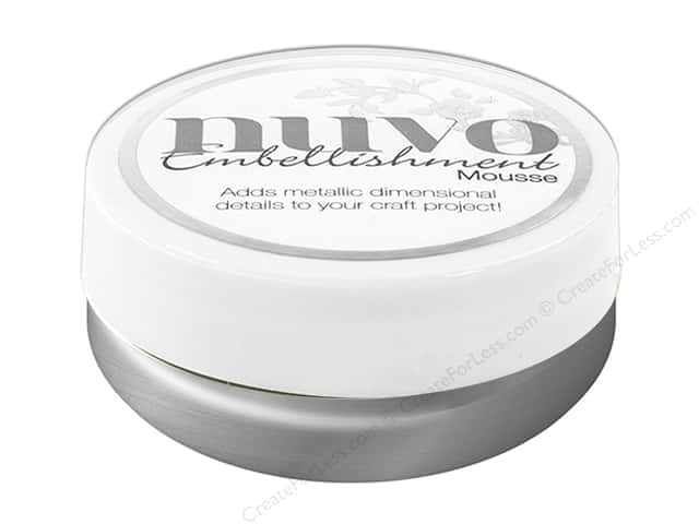 Nuvo Embellishment Mousse 2.2 oz. Pure Platinum