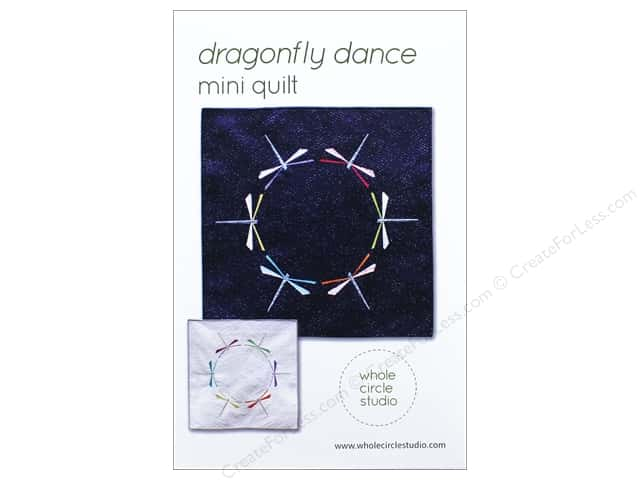 Whole Circle Studio Dragonfly Dance Mini Quilt Pattern