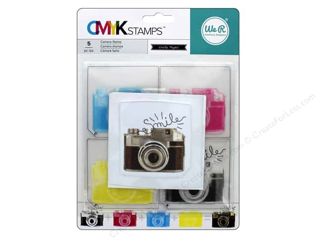 We R Memory Keepers CMYK Stamps Camera