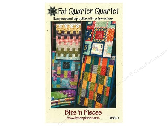 Bits 'n Pieces Fat Quarter Quartet Pattern