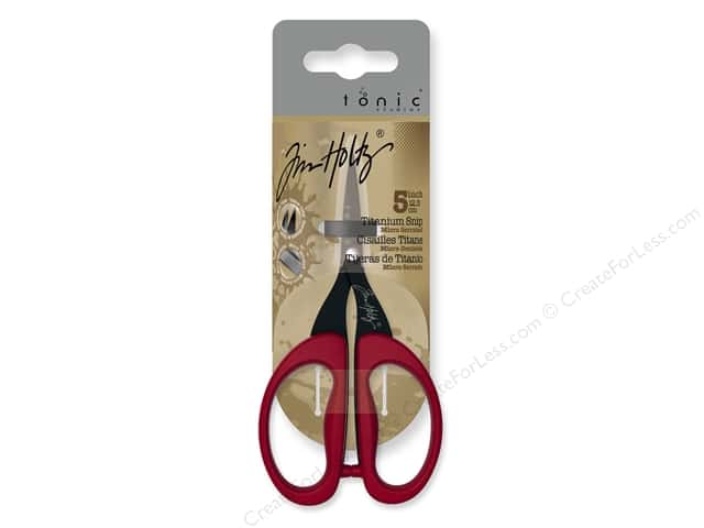 Tonic Studios Tim Holtz Fussy Cut Detail Scissors 5 in.