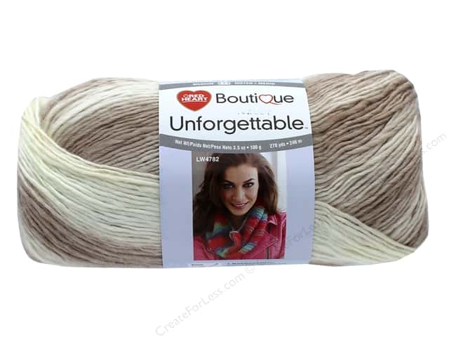 Red Heart Unforgettable Yarn 270 yd. #9942 Cappuccino
