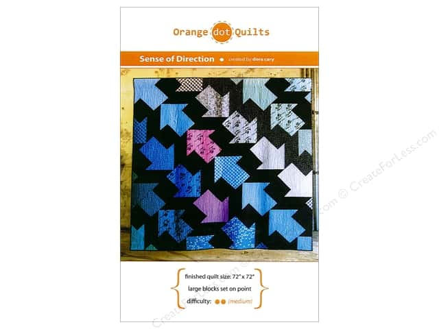 Orange Dot Quilts Sense Of Direction Pattern