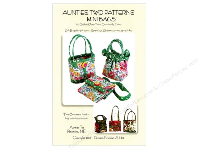 Aunties Two Mini Bags Pattern