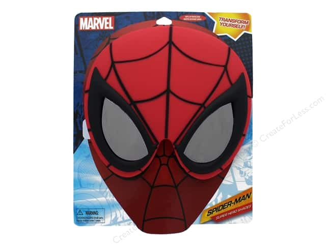 Sun-Staches Sunglasses Spiderman Mask