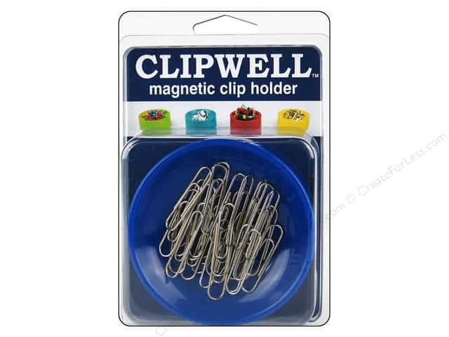 Blue Feather Clipwell Magnetic Clip Holder Blue