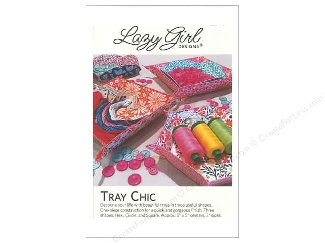 Lazy Girl Designs Tray Chic Pattern