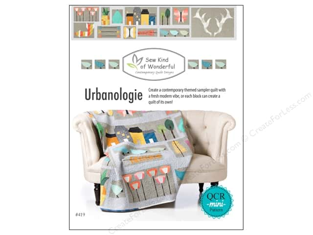 Sew Kind Of Wonderful QCR Urbanologie Sampler Book