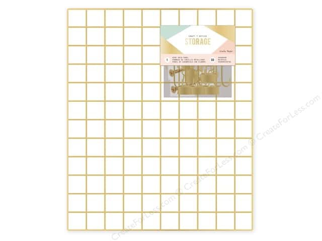 Crate Paper Craft & Office Storage Wire System Grid Panel