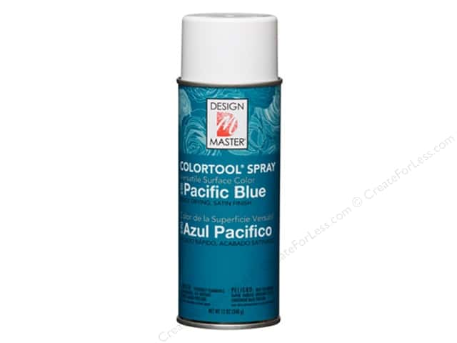 Design Master Colortool Spray Paint Pacific Blue 12 oz.