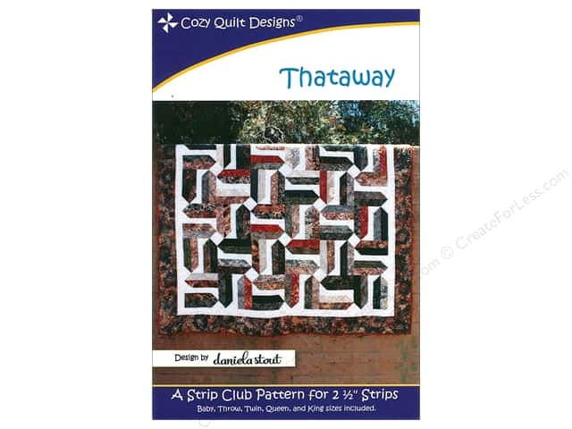 Cozy Quilt Designs Thataway Pattern