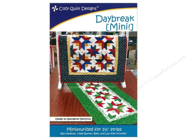 Cozy Quilt Designs Daybreak Mini Pattern