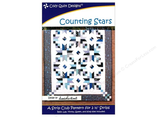 Cozy Quilt Designs Counting Stars Pattern