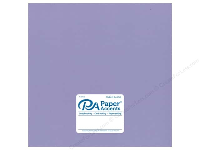 Paper Accents Cardstock 12 x 12 in. #8091 Muslin Bellflower (25 sheets)