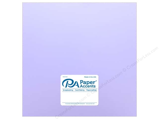 Paper Accents Cardstock 12 x 12 in. #18054 Smooth Purple Palisades (25 sheets)