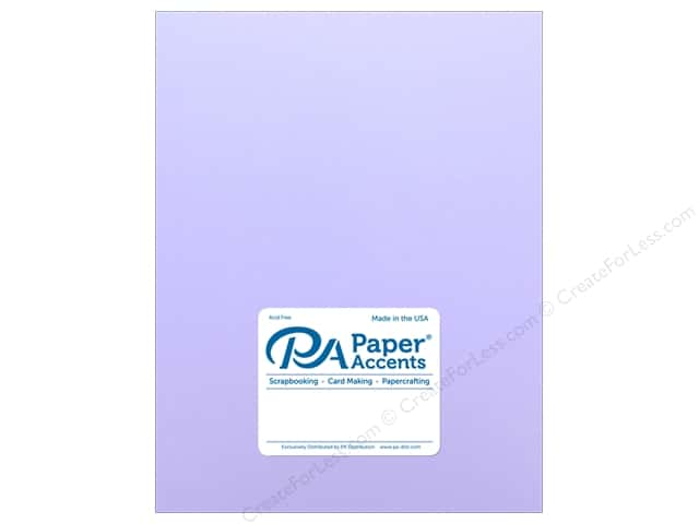 Paper Accents Cardstock 8 1/2 x 11 in. #18054 Smooth Purple Palisades (25 sheets)