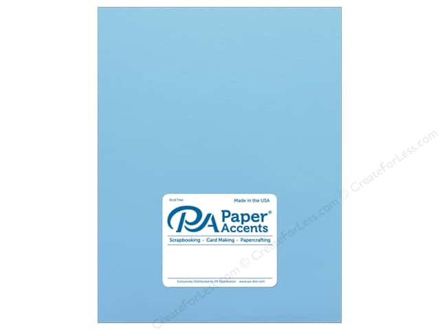 Paper Accents Cardstock 8 1/2 x 11 in. #18041 Smooth Vibrant Blue (25 sheets)