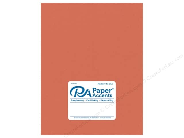 Paper Accents Cardstock 8 1/2 x 11 in. #18011 Smooth Sun Coral (25 sheets)