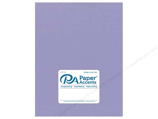 Paper Accents Cardstock 8 1/2 x 11 in. #18091 Smooth Bellflower (25 sheets)
