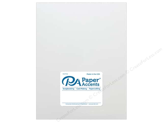 Paper Accents Cardstock 8 1/2 x 11 in. #18077 Smooth Avalanche (25 sheets)