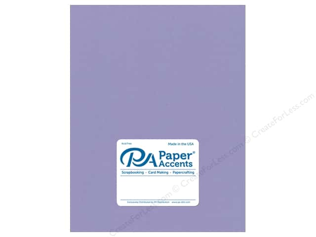 Paper Accents Cardstock 8 1/2 x 11 in. #8091 Muslin Bellflower (25 sheets)