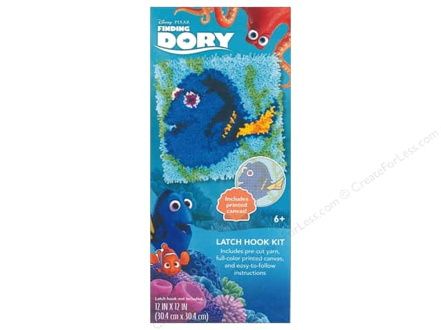 Dimensions Latch Hook Kit Disney Dory Createforless