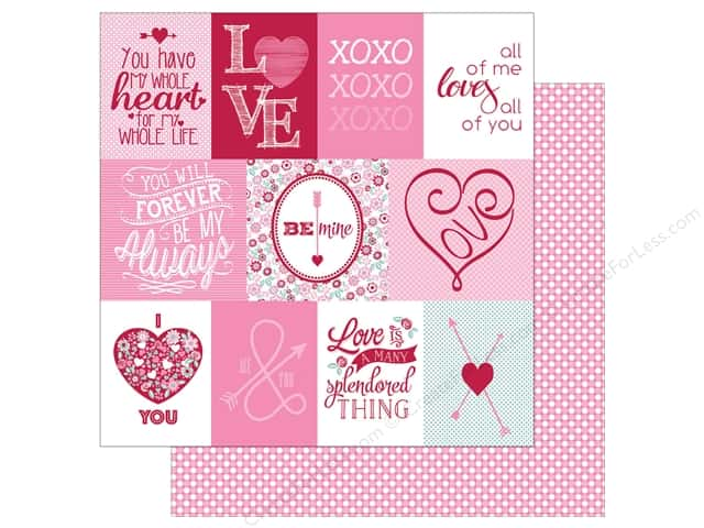 Authentique 12 x 12 in. Paper Sweetie Six (25 pieces)