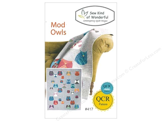 Sew Kind Of Wonderful QCR Mod Owls Pattern