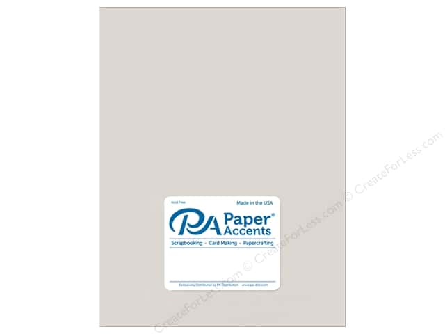 Paper Accents Cardstock 8 1/2 x 11 in. #895C Pearlized Silver 5 pc.