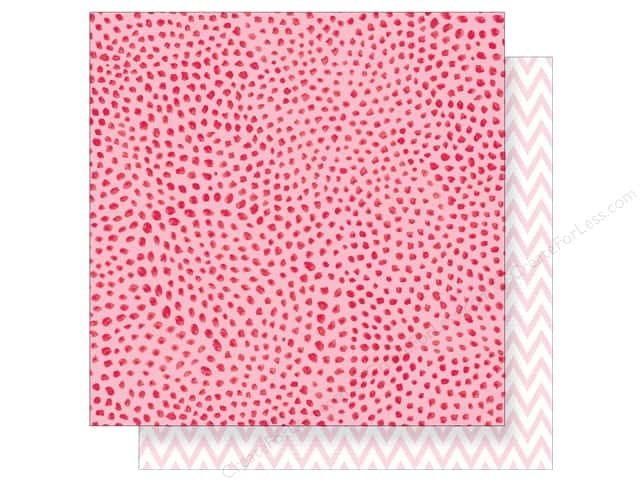 """Crate Paper Collection Heart Day Paper 12""""x 12"""" Dreamy (25 pieces)"""
