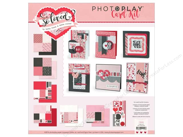 Photo Play Collection So Loved Valentine Card Set