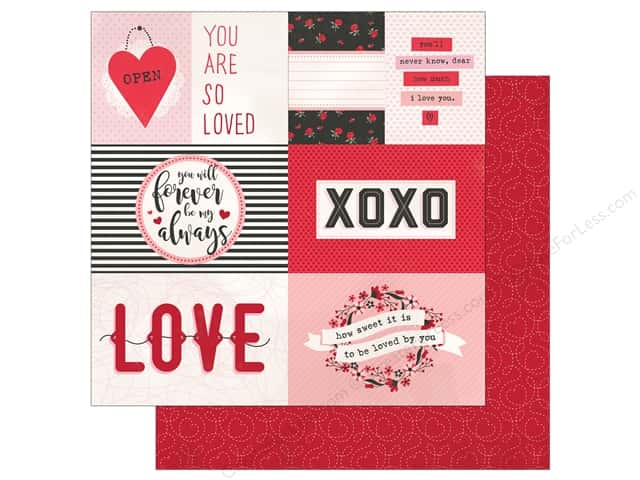"""Photo Play Collection So Loved Paper 12""""x 12"""" So Loved (25 pieces)"""
