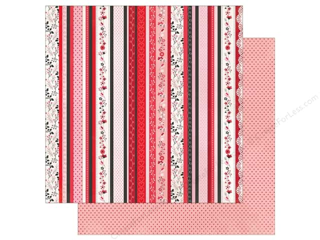 """Photo Play Collection So Loved Paper 12""""x 12"""" Kiss Me (25 pieces)"""