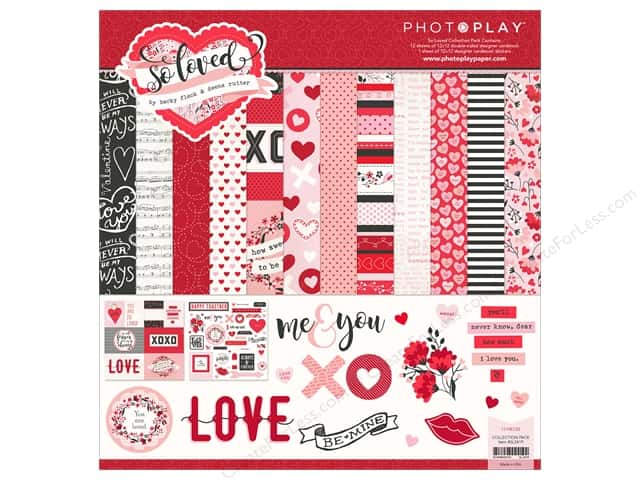 "Photo Play Collection So Loved Collection Pack 12""x 12"""