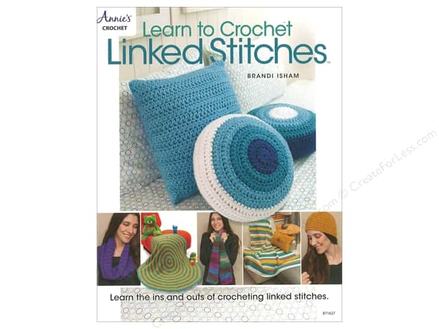 Annie's Learn To Crochet Linked Stitches Book